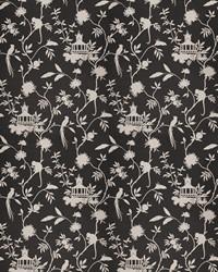 Black Oriental Fabric  03364 Black