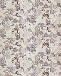 Grey Jacobean Fabrics  03373 Grey