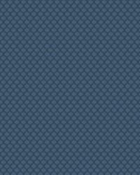Blue Trellis Diamond Fabric  03417 Ocean