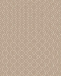 Beige Trellis Diamond Fabric  03487 Linen