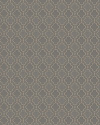 Blue Trellis Diamond Fabric  03487 Capri
