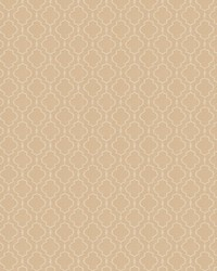 Beige Trellis Diamond Fabric  03487 Cream