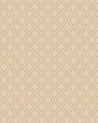 Beige Trellis Diamond Fabric  03487 Parchment