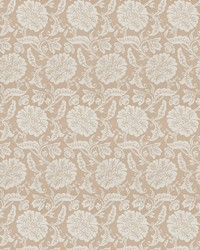 Brown Jacobean Fabrics  03648 Taupe