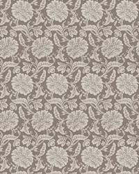 Grey Jacobean Fabrics  03648 Grey