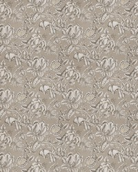 Black French Country Toile Fabric  03668 Graphite