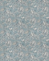 Blue French Country Toile Fabric  03668 Blue
