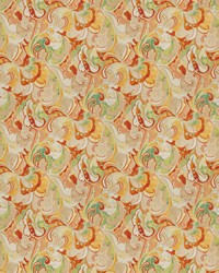 Classic Paisley Fabric  03807 Apricot