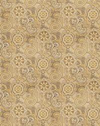 Gold Classic Paisley Fabric  03806 Goldrush