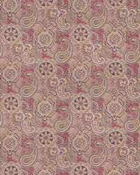 Purple Classic Paisley Fabric  03806 Mulberry