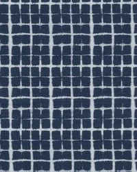 Shibori Plaid Navy by