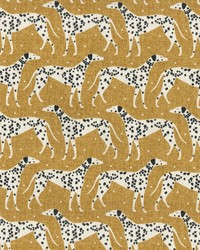 Dapper Dalmatian Mustard by