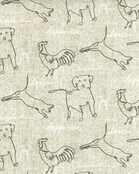Happy Animals Parchment by