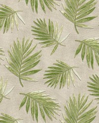 P K Lifestyles PKL OD Fossil Fronds Leaf Fabric