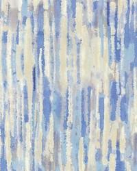 Blue Abstract Fabric  High Spirits Lapis
