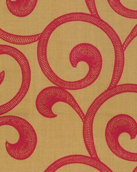 HAMPTON SCROLL  GMS CINNABAR by