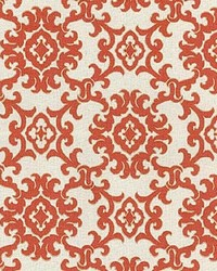 P K Lifestyles TBO Medallion Isle Toffee Fabric