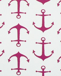 Anchors Candy Pink White by