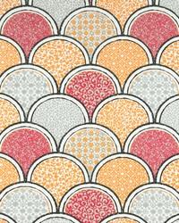 Multi Funky Fabric  Arch Sherbet Twill