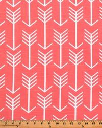 Novelty Western Fabric  Arrow Bittersweet Slub