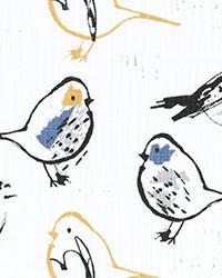 Bird Toile Brazilian Yellow Sl by