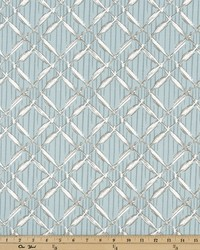 Blue Trellis Diamond Fabric  Bora Bora Spa Blue