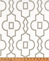 Beige Trellis Diamond Fabric  Bordeaux Ecru