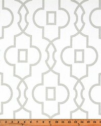 Grey Trellis Diamond Fabric  Bordeaux French Grey