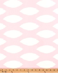 Pink Circles and Swirls Fabric  Chaz Bella Twill