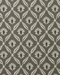 Green Floral Diamond Fabric  Clover Steel Macon