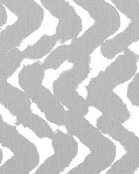 Grey Circles and Swirls Fabric  Cosmic Storm Twill