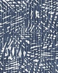 Blue Abstract Fabric  Diego Space Blue Slub Canvas