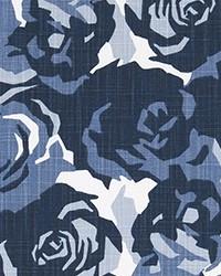 Farrah Prussian Blue Slub Canv by