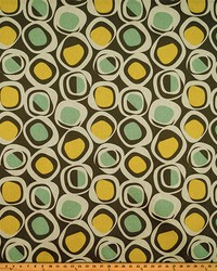 Circles and Swirls Fabric  Chase Collins Laken