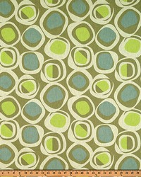 Circles and Swirls Fabric  Chase Florence Laken