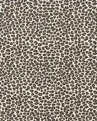 Leopard Topaz Slub Canvas by