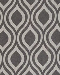 Grey Circles and Swirls Fabric  Nicole Gray Laken