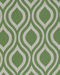 Green Circles and Swirls Fabric  Nicole Organic Green Laken