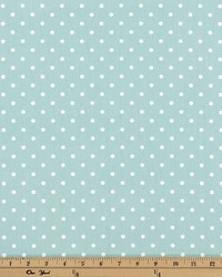 Mini Dot Canal White Twill by