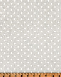 Mini Dot French Gray White by