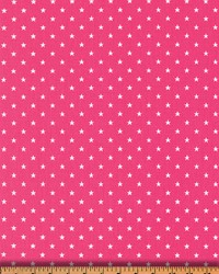 Premier Prints Mini Star Candy Pink Fabric