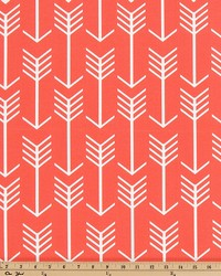 Premier Prints Outdoor Arrow Indian Coral Fabric