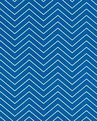 Outdoor Chevron Cobalt by