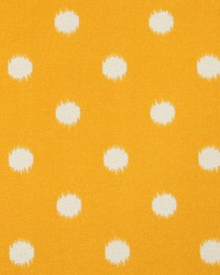 Outdoor Ikat Dot Citrus Yellow by