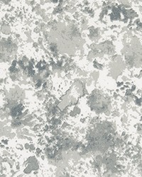 Grey Abstract Fabric  ODT Shore Sea Salt Polyester
