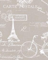Beige Word Fabrics  Paris Ecru