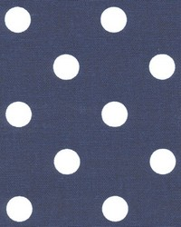 Polka Dot Blue White by