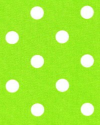 Polka Dot Chartreuse White by