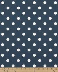 Polka Dot Premier Navy White T by