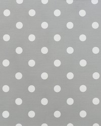 Polka Dot Storm White Twill by